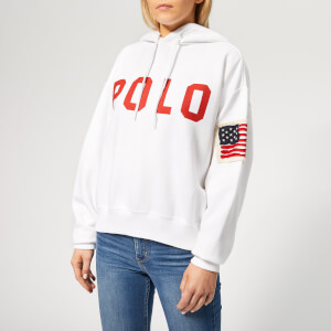 Polo Ralph Lauren Women's Relaxed Polo Hoodie - White
