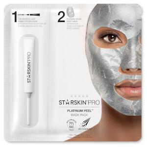 Embalagem de Máscaras Platinum Peel da STARSKIN PRO 40 g