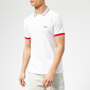 BOSS Men's Paule 3 Polo Shirt - White