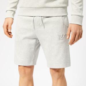 BOSS Men's Headlo Shorts - Light Grey Melange