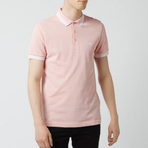 BOSS Men's Paddy Tipped Polo Shirt - Pale Pink