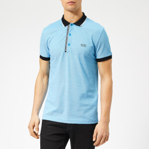 BOSS Men's Paule 4 Placket Logo Polo Shirt - Sky