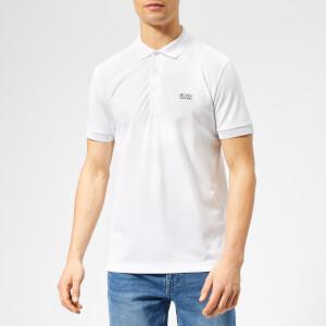 BOSS Men's Paulie Tech Polo Shirt - White