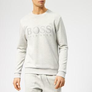 BOSS Men's Salbo Sweatshirt - Light Grey Melange