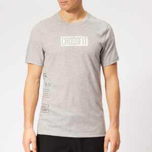Reebok Men's Crossfit Move Short Sleeve T-Shirt - Grey Heather