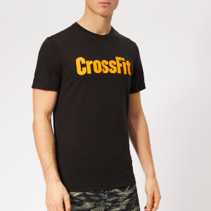 Reebok Men's Crossfit F.E.F. Short Sleeve T-Shirt - Black