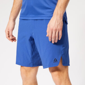 Reebok Men's Epic Knit Waist Shorts - Blue