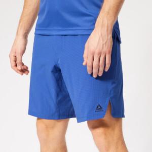 Reebok Men's Epic Knit Waist Shorts - Blue