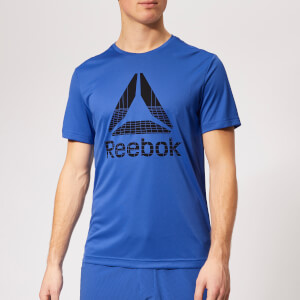 Reebok Men's WOR Graphic Short Sleeve T-Shirt - Blue