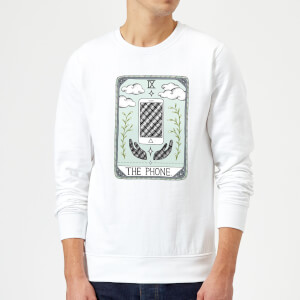Barlena The Phone Sweatshirt - White