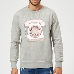 Barlena Phone Call Sweatshirt - Grey