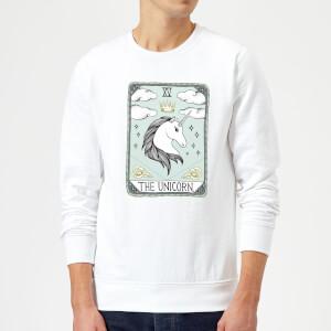 Barlena The Unicorn Sweatshirt - White