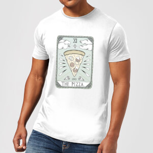 Barlena The Pizza Men's T-Shirt - White
