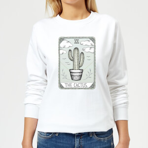 Barlena The Cactus Women's Sweatshirt - White