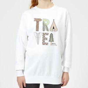 Barlena Travel Women's Sweatshirt - White
