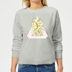 Barlena Pineapple Women's Sweatshirt - Grey
