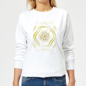Barlena Snakes Women's Sweatshirt - White