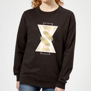 Barlena Feather Women's Sweatshirt - Black