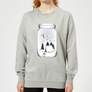 Barlena New Adventure Women's Sweatshirt - Grey