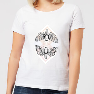 Barlena Moth Women's T-Shirt - White