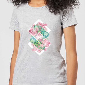 Barlena Flowers Women's T-Shirt - Grey