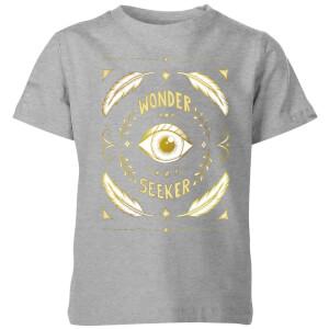 Barlena Wonder Seeker Kids' T-Shirt - Grey