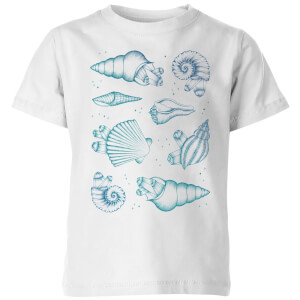 Barlena Ocean Gems Kids' T-Shirt - White