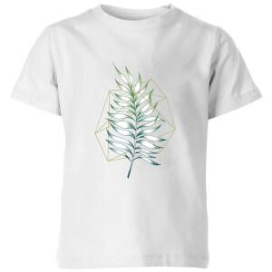 Geometry And Nature Kids' T-Shirt - White