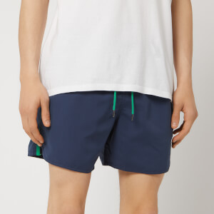 ac80e880136ef Emporio Armani Men s Taped Swim Shorts - Navy