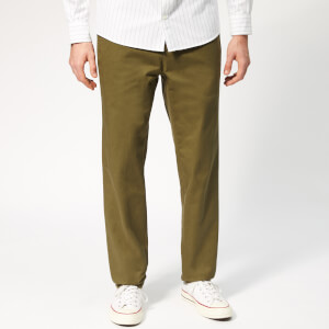 A.P.C. Men's Pantalon Quake Trousers - Khaki