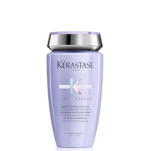 Shampooing Violet Anti-Faux Reflets Bain Ultra-Violet Blond Absolu Kérastase 250ml