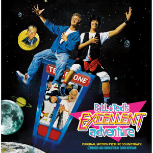 Bill and Ted's Excellent Adventure (Orignal Movie Soundtrack) Limited Edition LP - Zavvi Exclusive