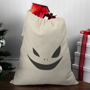 Creepy Face Christmas Santa Sack