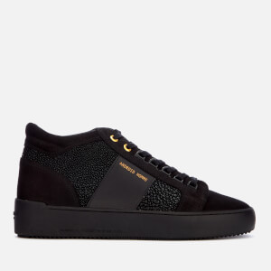 Android Homme Men's Propulsion Mid Geo Stingray Suede Trainers - Carbon Black