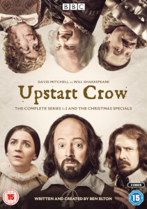 Upstart Crow The Complete Series 1-3 And The Christmas Specials Boxset