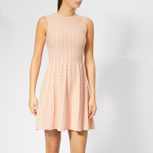 Ted Baker Women's Vellia Knitted Flippy Skater Dress - Pale Pink