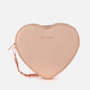 Ted Baker Women's Amellie Heart Cross Body Bag - Rose Gold