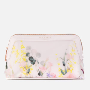 Ted Baker Women's Teegan Bow Detail Small Make-Up Bag - Nude/Pink