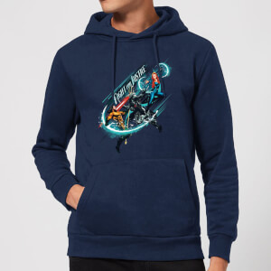Aquaman Fight for Justice Hoodie - Navy