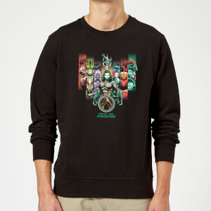 Aquaman Unite The Kingdoms Sweatshirt - Black