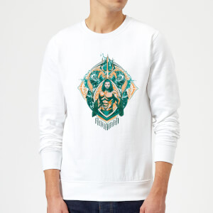 Aquaman Seven Kingdoms Sweatshirt - White