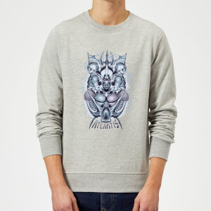 Aquaman Atlantis Seven Kingdoms Sweatshirt - Grey