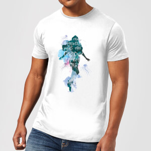 Camiseta DC Comics Aquaman Mera True Princess - Hombre - Blanco