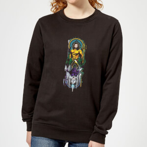 Aquaman and Ocean Master Women's Sweatshirt - Black