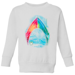Aquaman Mera Beach Symbol Kids' Sweatshirt - White