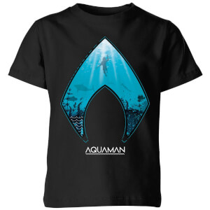 Aquaman Deep Kids' T-Shirt - Black