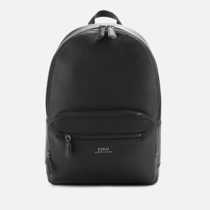 Polo Ralph Lauren Men's Web Strap Pebble Backpack - Black