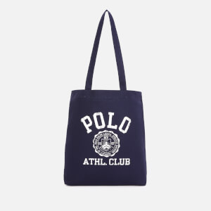 Polo Ralph Lauren Men's Cotton Twill Canvas Tote Bag - Navy