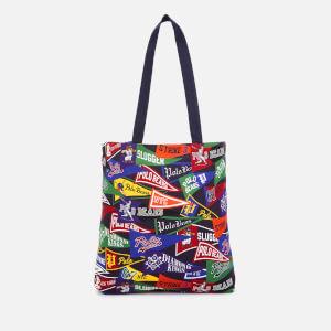 Polo Ralph Lauren Men's Cotton Twill Canvas Tote Bag - Black