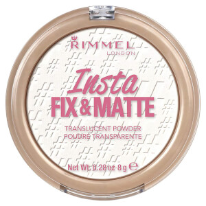 Матовая пудра Rimmel Insta Fix & Matte Powder — Translucent